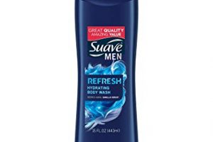 Stock Up!!  Suave Men Body Wash Only $0.90!!!