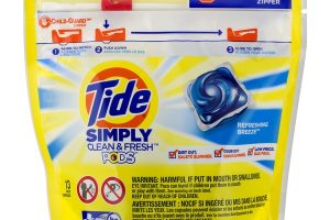 Tide Pods Simply Clean & Fresh Laundry Detergent Pacs Only $0.94
