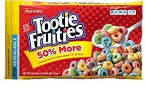 Malt-O-Meal Tootie Fruities Cereal Only $1.54! WOW!