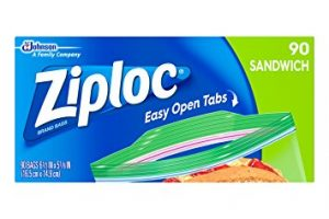 You'll Need These! Ziploc Sandwich Bags, 90 ct Only $1.79