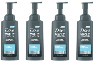 Dove Men+Care Foaming Body Wash Only $2.94 Each!