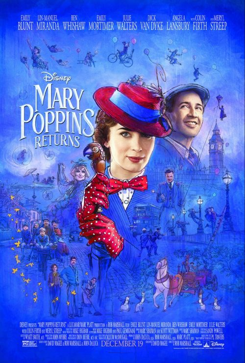 marypoppinsposter e1544467770477 - Disney Mary Poppins Returns: Emily Blunt is Mary Poppins - Exclusive Interview