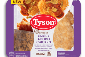 Tyson Fully Cooked Entree Kit Only $1.99!