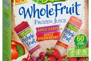 Wow! Whole Fruit Organic Juice Tubes Only $0.98!!