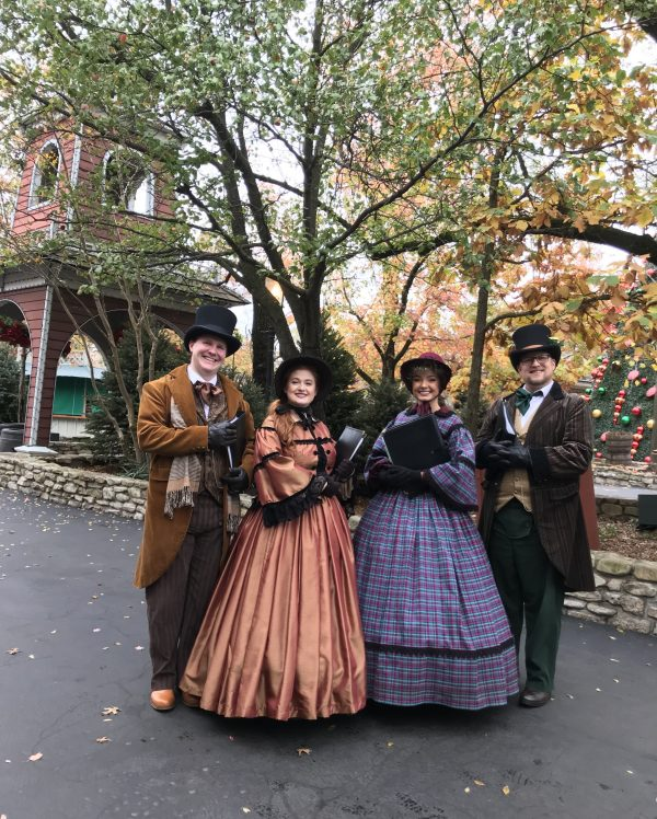 SilverDollarCarolers e1542902447330 - A Silver Dollar City Lights up for Christmas