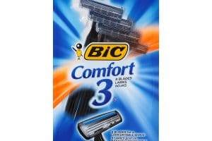 Use Your Smartphone!! Bic Comfort 3 Razors Only $0.50!!