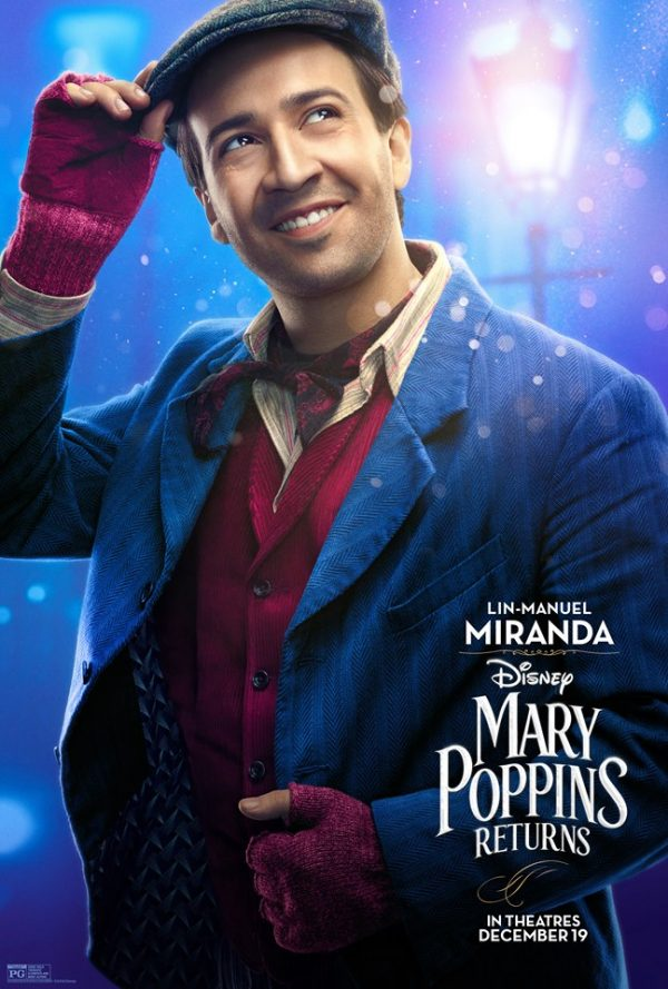 linmanuel2 e1543197389139 - I'm Invited! Disney Mary Poppins Returns Movie Premiere in Los Angeles!