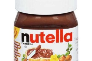 Stock Up!!! Nutella Spread Only $0.35 Each!!