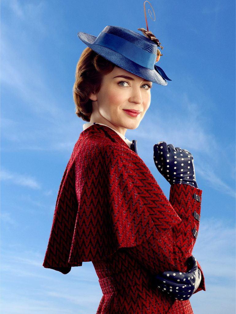 EmilyBluntPoster 769x1024 - Mary Poppins Returns Film Review - Our Favorite Nanny is Back!