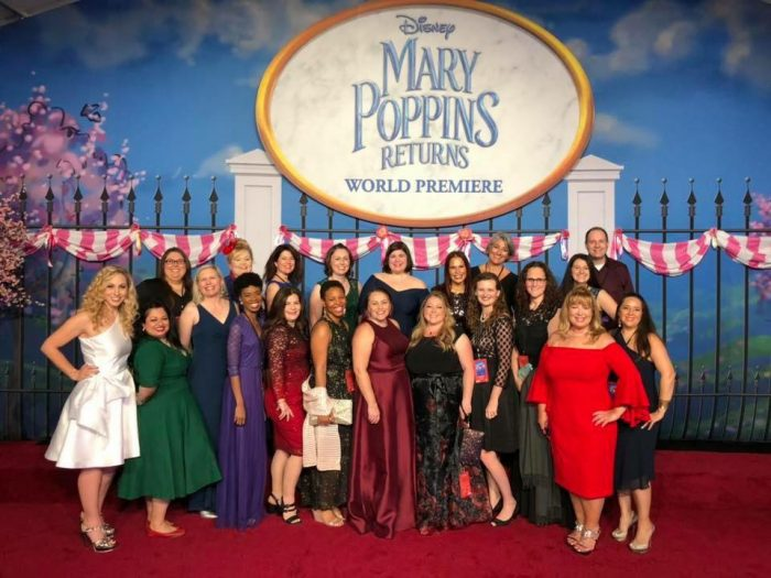 MaryPoppinsgroup2 e1543860308869 - Disney Mary Poppins Returns Red Carpet Event and After Party