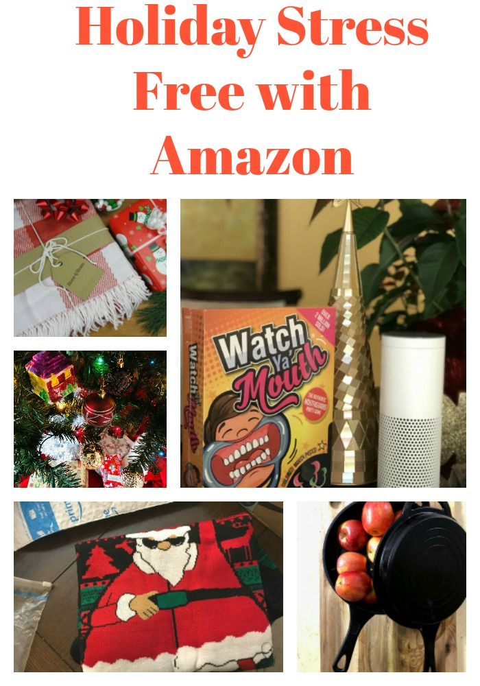amazonCollage2 - Holiday Stress-Free with Amazon