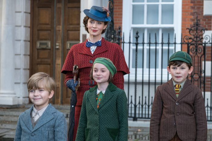 emilybluntandkids e1544457560299 - Disney Mary Poppins Returns: Emily Blunt is Mary Poppins - Exclusive Interview