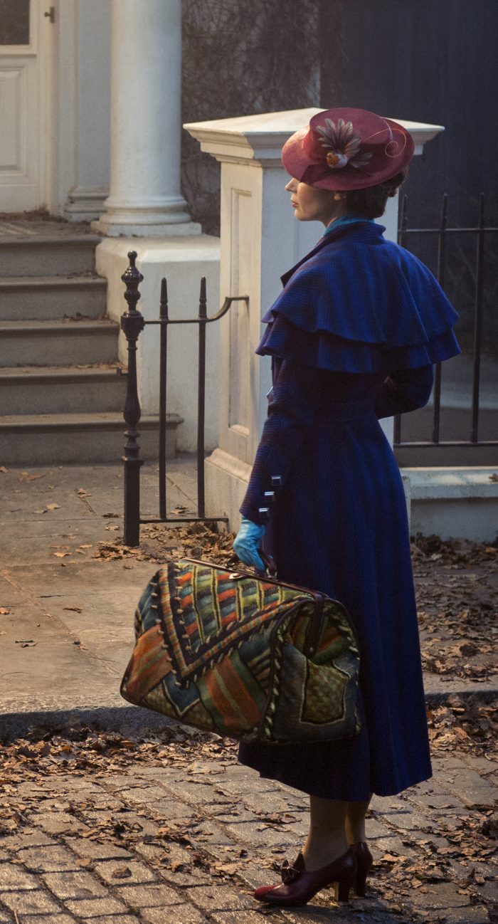 marypoppinsbag e1544632967681 - Mary Poppins Returns Film Review - Our Favorite Nanny is Back!
