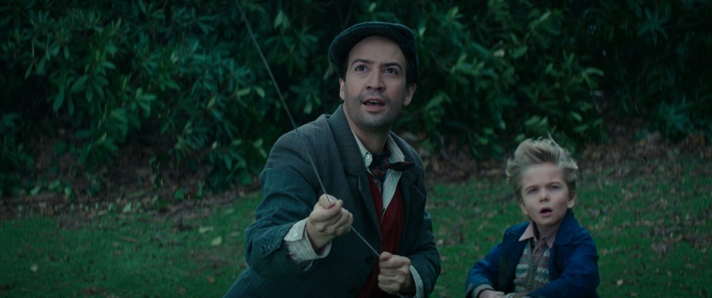 marypoppinslinmanuel 1024x429 - Mary Poppins Returns Film Review - Our Favorite Nanny is Back!