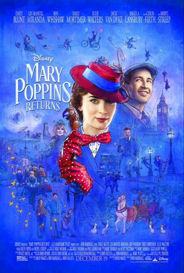 marypoppinsposter e1545152093895 - Disney Mary Poppins Returns - Child Actors Pixie Davies & Joel Dawson