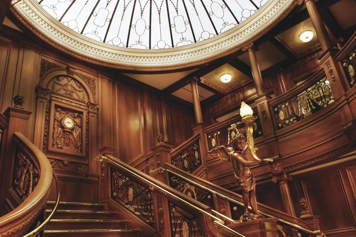 titanic grand staircase01 e1544744574269 - Branson Attractions at Christmas Time