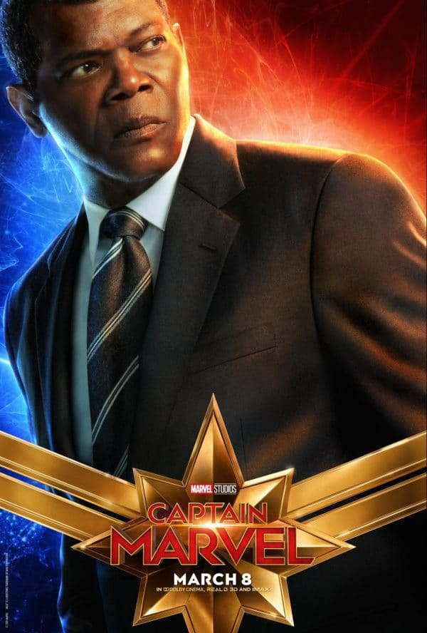 CaptainMarvel2 e1547825943687 - Captain Marvel Posters Just Released