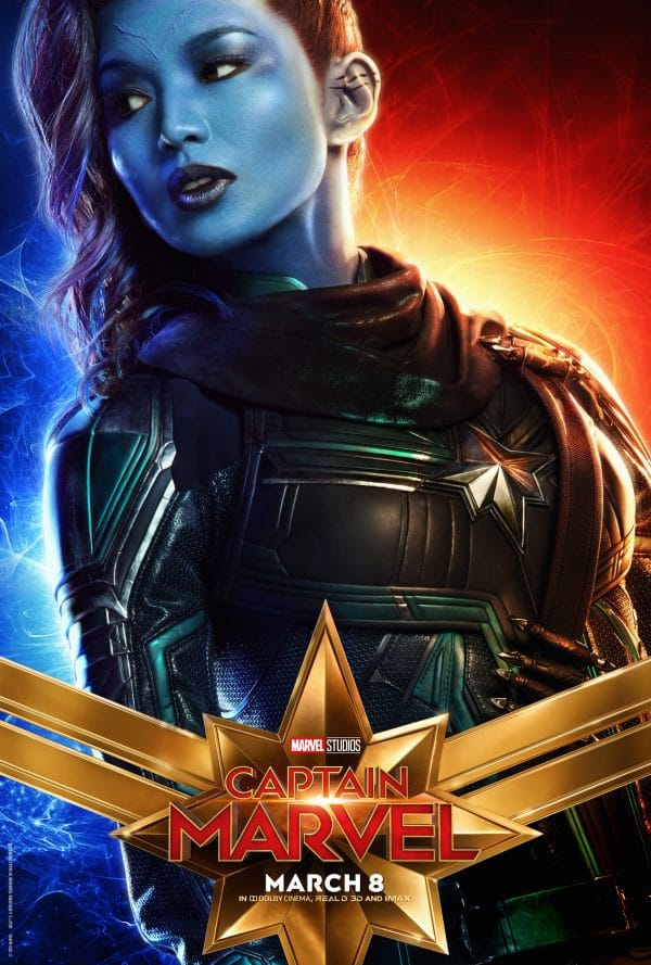 CaptainMarvel9 e1547826105246 - Captain Marvel Posters Just Released