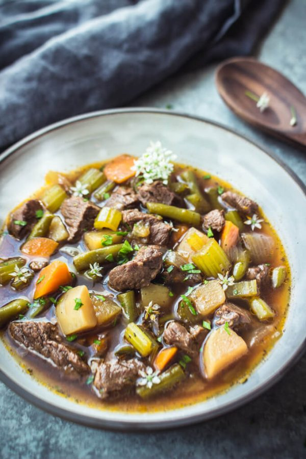 Vegetable Beef Soup IP 5 600x900 - So Good Soups! Healthy & Delicious!