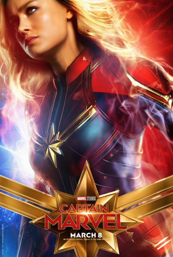captainmarvel e1547825839292 - Captain Marvel Posters Just Released