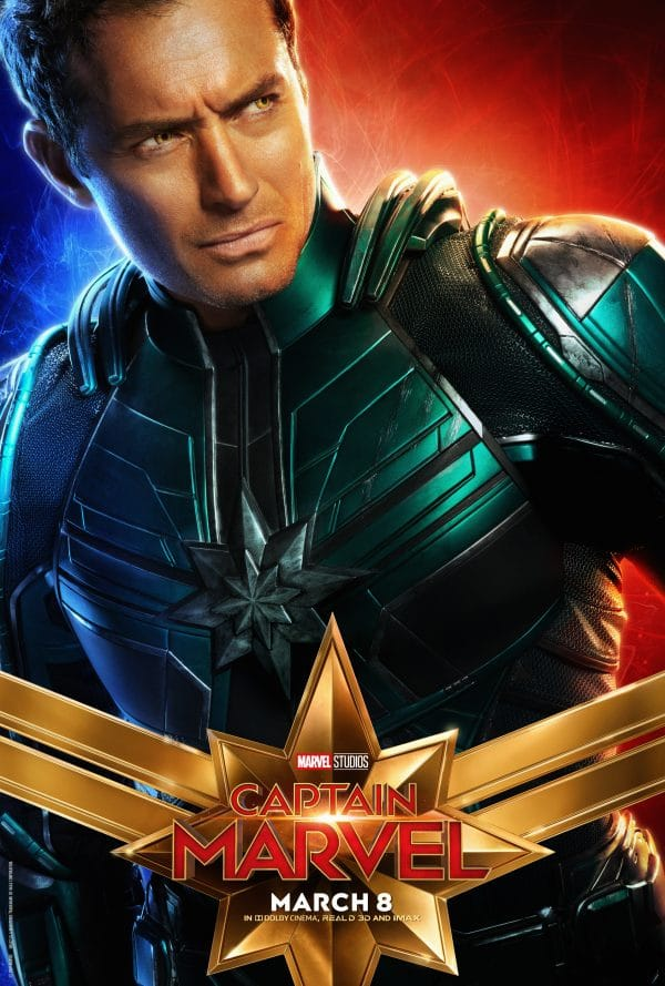 captainmarvel3 e1547825975130 - Captain Marvel Posters Just Released