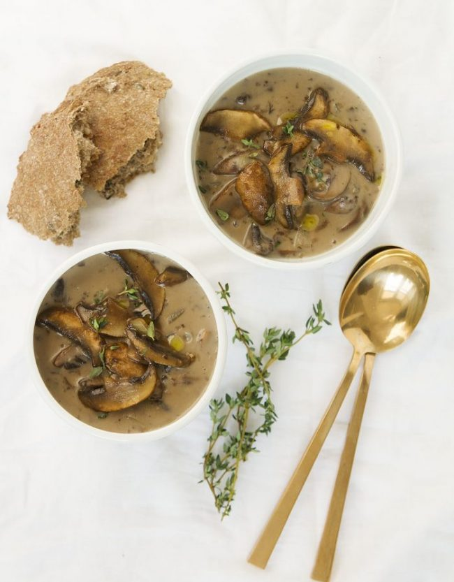 mushroom soup1 1170x1500 e1546469986552 - So Good Soups! Healthy & Delicious!