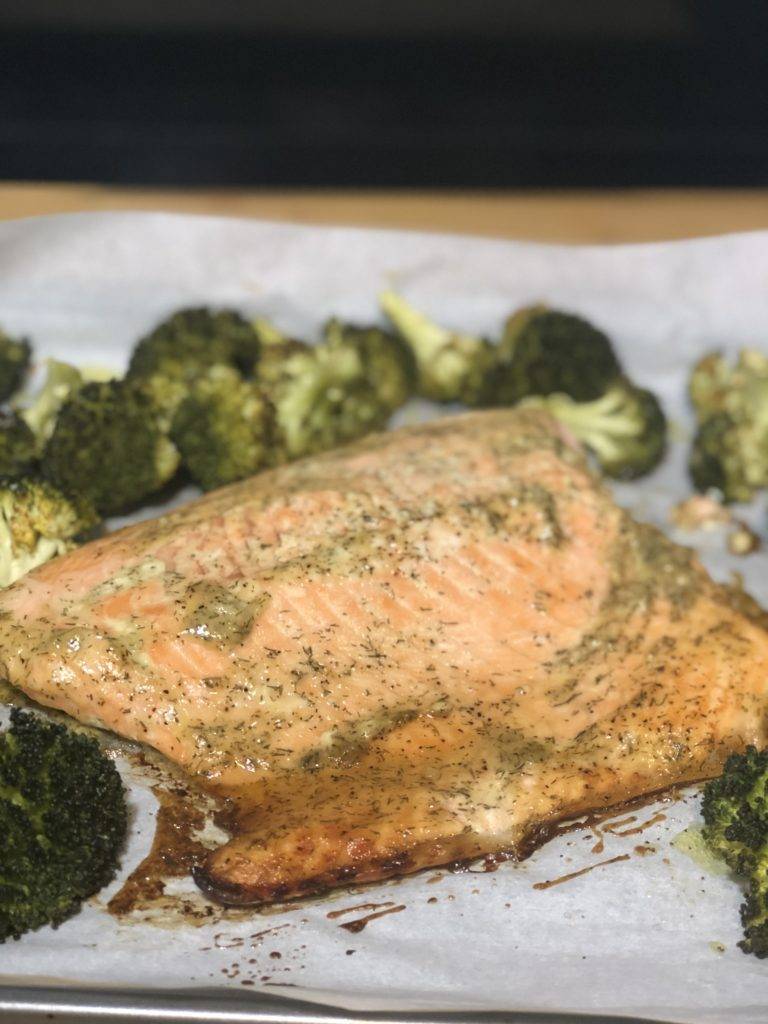 salmon sheet pan recipe 768x1024 - 12 Simple Salmon Recipes - Quick & Easy and Healthy too!